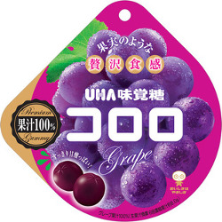 UHA Kororo Grape Gummy 48g
